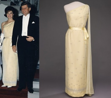 White_House_Dinner_in_honor_of_President_of_Tunisia._President_Habib_Bourguiba,_Mrs._Bourguiba,_Mrs._Kennedy1961